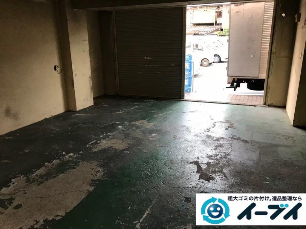 2020年2月6日大阪府千早赤阪村で事務所の撤去に伴い、事務用品や使わなくなった物の不用品回収。写真4
