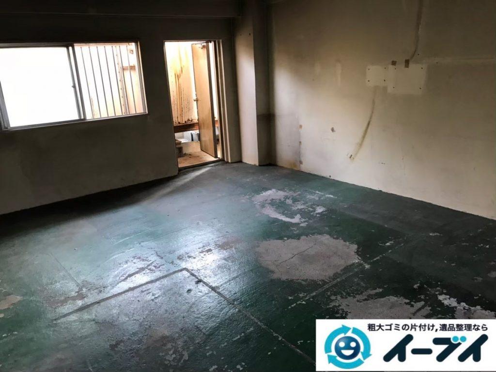 2020年2月6日大阪府千早赤阪村で事務所の撤去に伴い、事務用品や使わなくなった物の不用品回収。写真1