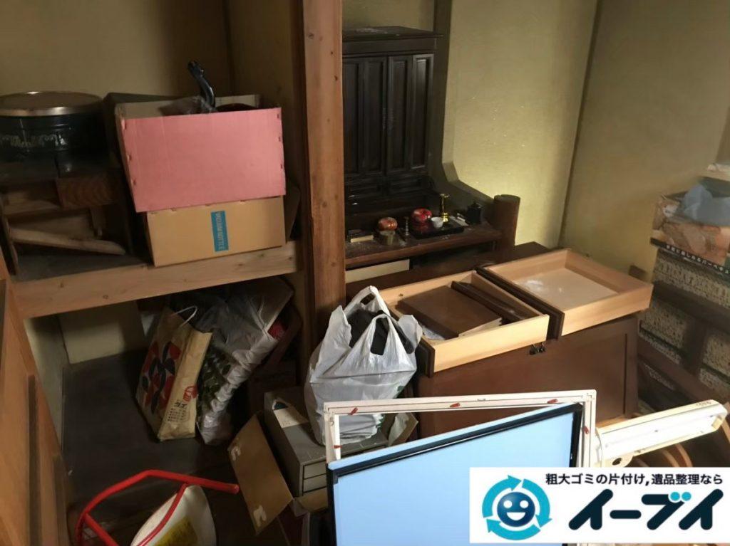 2020年3月4日大阪府堺市北区で食器棚や整理箪笥の大型家具処分をさせていただきました。写真3