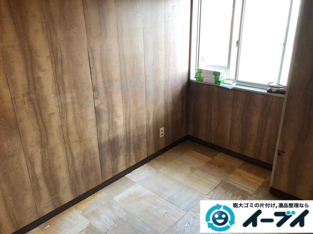 2020年1月31日大阪府交野市でタンスや本棚の家具や扇風機や掃除機の家電の粗大ゴミ処分。写真2