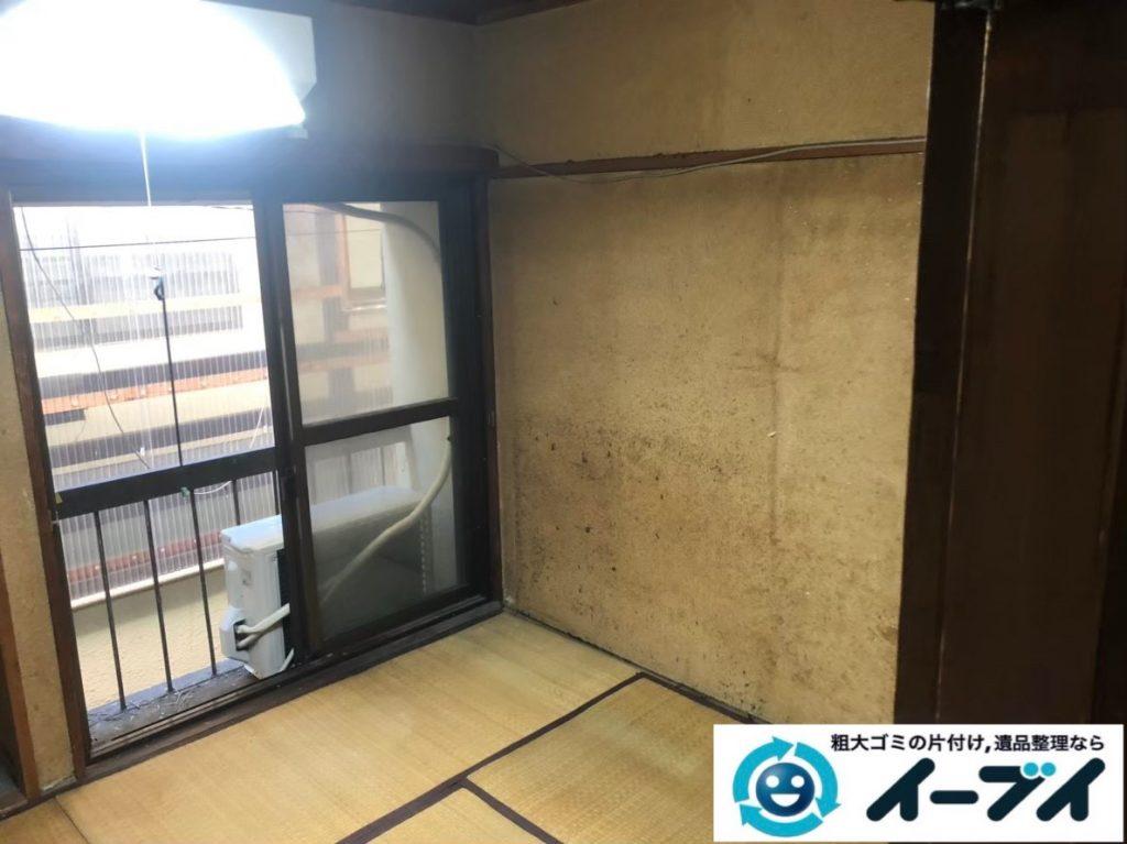 2020年2月18日大阪府大阪市城東区で和箪笥や整理箪笥の婚礼家具処分。写真2