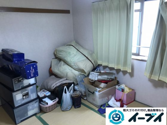 2020年3月6日大阪府大阪市住吉で引越し後に残った残置物を引き取り処分させていただきました。写真3