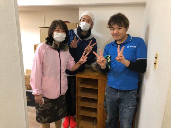 2020年3月3日兵庫県尼崎市南武庫之荘でお引っ越しのご依頼をイーブイに頂きました。写真1