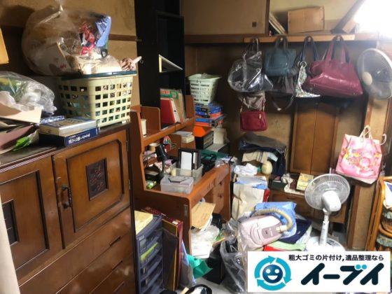 2020年3月6日大阪府大正区で婚礼家具の大型家具、勉強机、テレビ台などの不用品回収。写真3