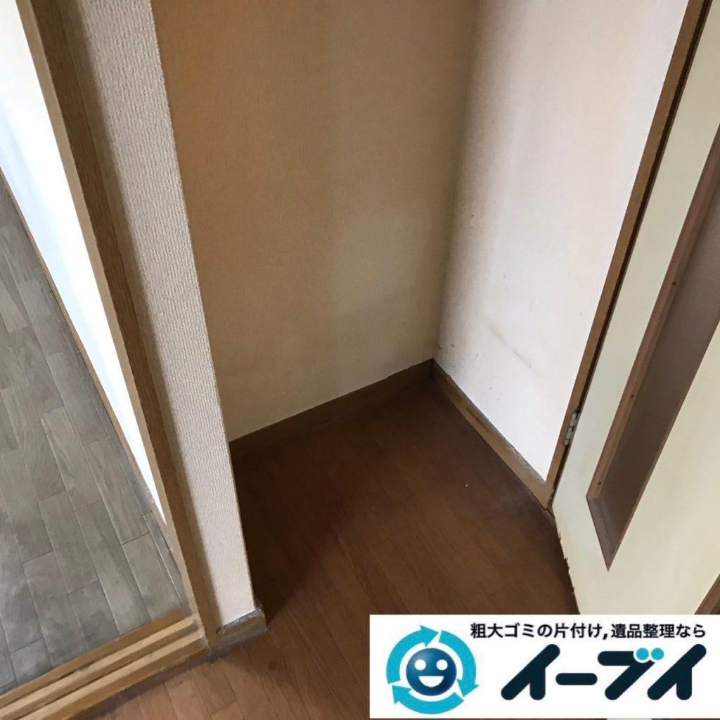 2020年3月11日大阪府大阪市住之江区で退去に伴い、マンションの家財道具を一式処分させていただきました。写真4