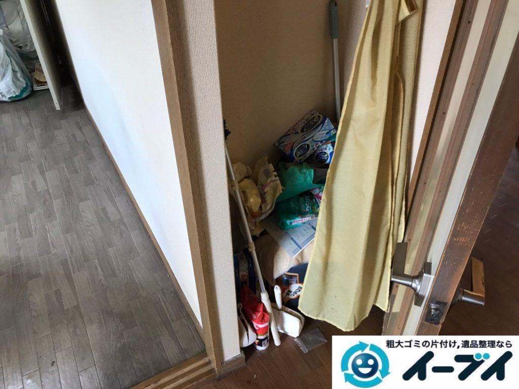 2020年3月11日大阪府大阪市住之江区で退去に伴い、マンションの家財道具を一式処分させていただきました。写真3