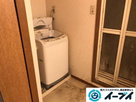 2020年3月10日大阪府大阪市中央区でエアコンや洗濯機の家電の不用品回収。写真3