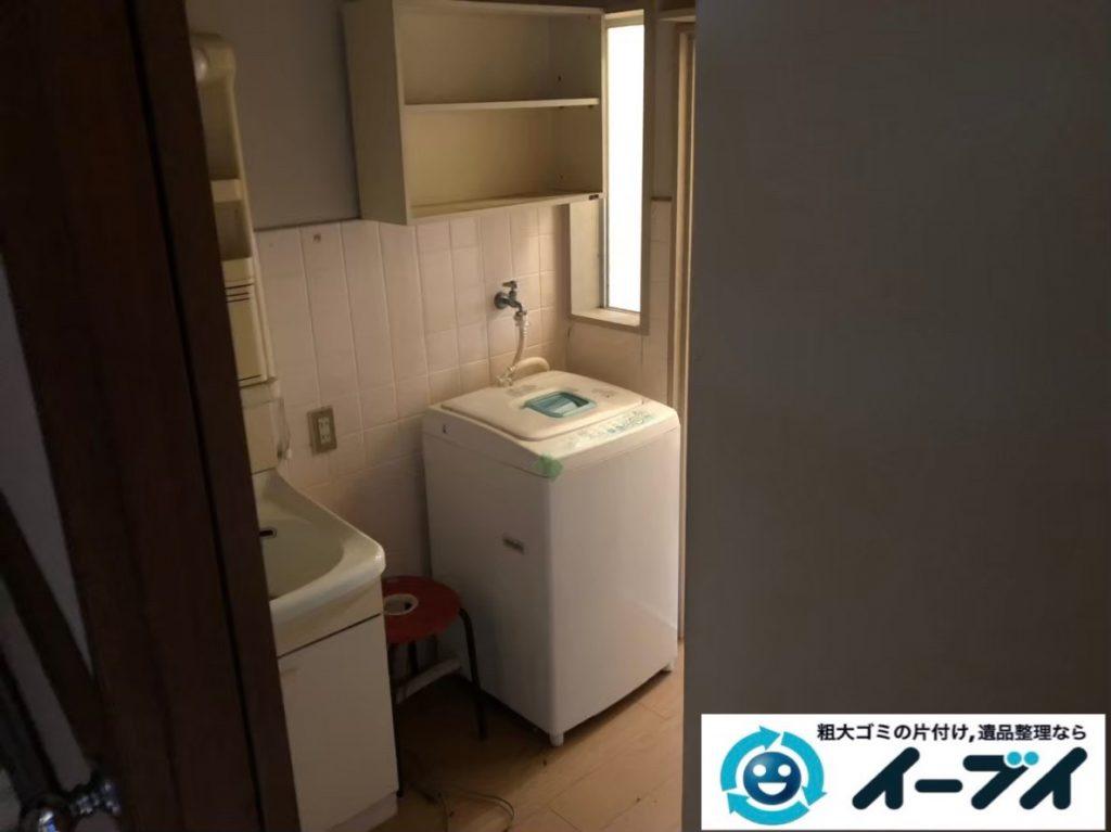 2020年3月25日大阪府大阪市大正区でゴミ屋敷化したお家の片付け作業。写真2
