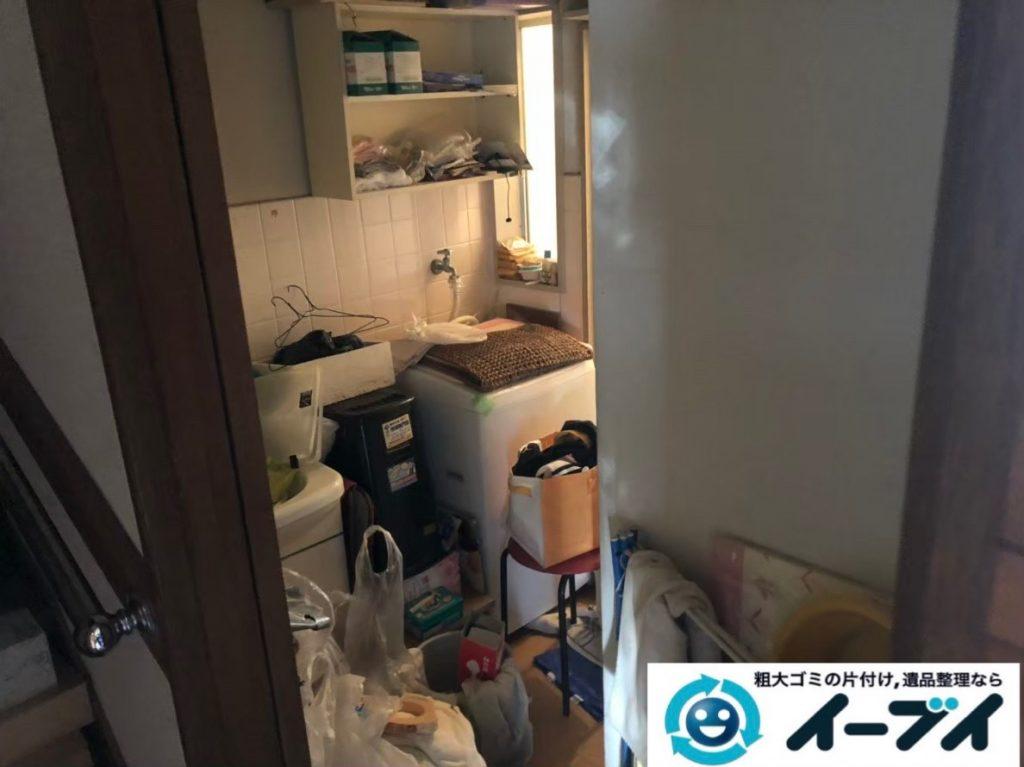 2020年3月25日大阪府大阪市大正区でゴミ屋敷化したお家の片付け作業。写真1