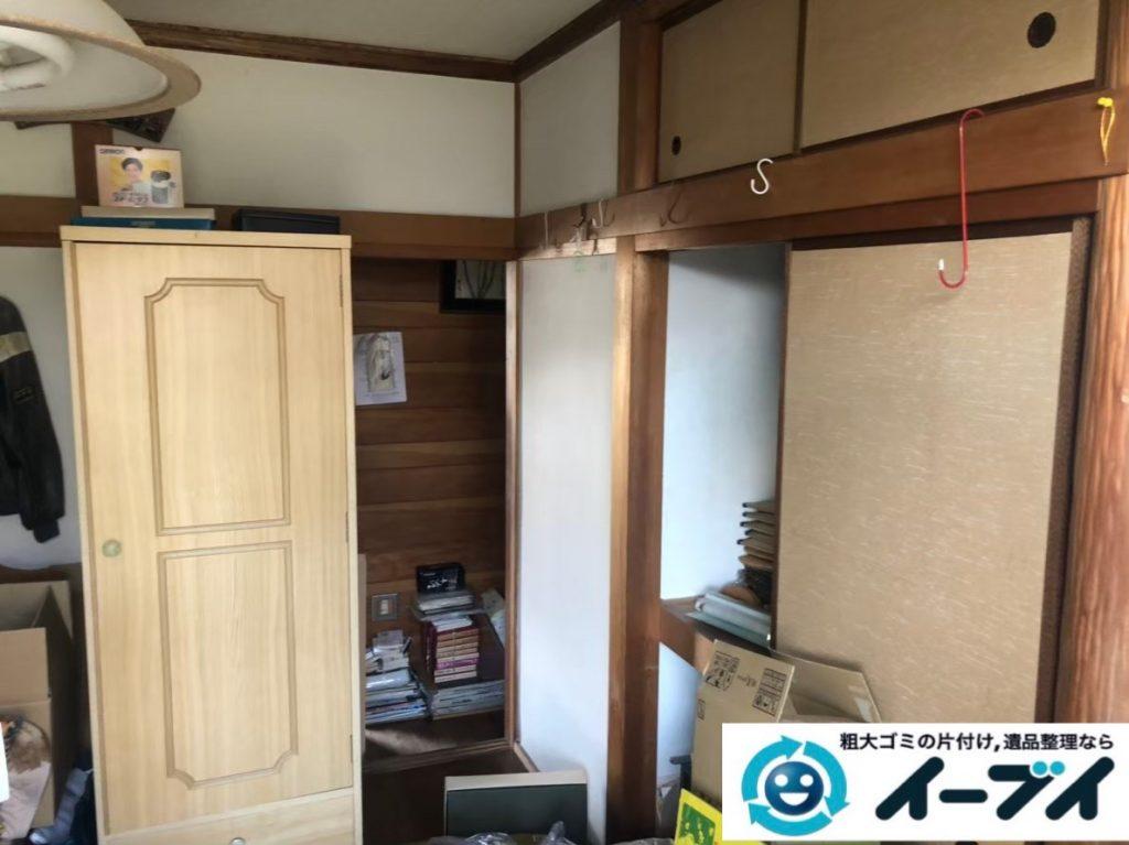 2020年3月26日大阪府大阪市平野区で洋服ダンスやベッドの大型家具などの不用品回収。写真3