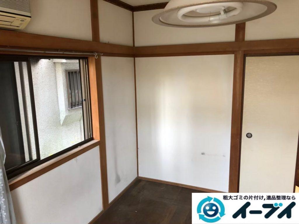 2020年3月26日大阪府大阪市平野区で洋服ダンスやベッドの大型家具などの不用品回収。写真2