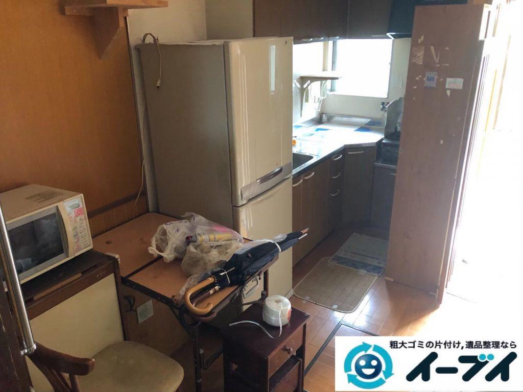 2020年4月3日大阪府大阪市生野区で引越しに伴い、お家の家財道具を一式処分させていただきました。写真4