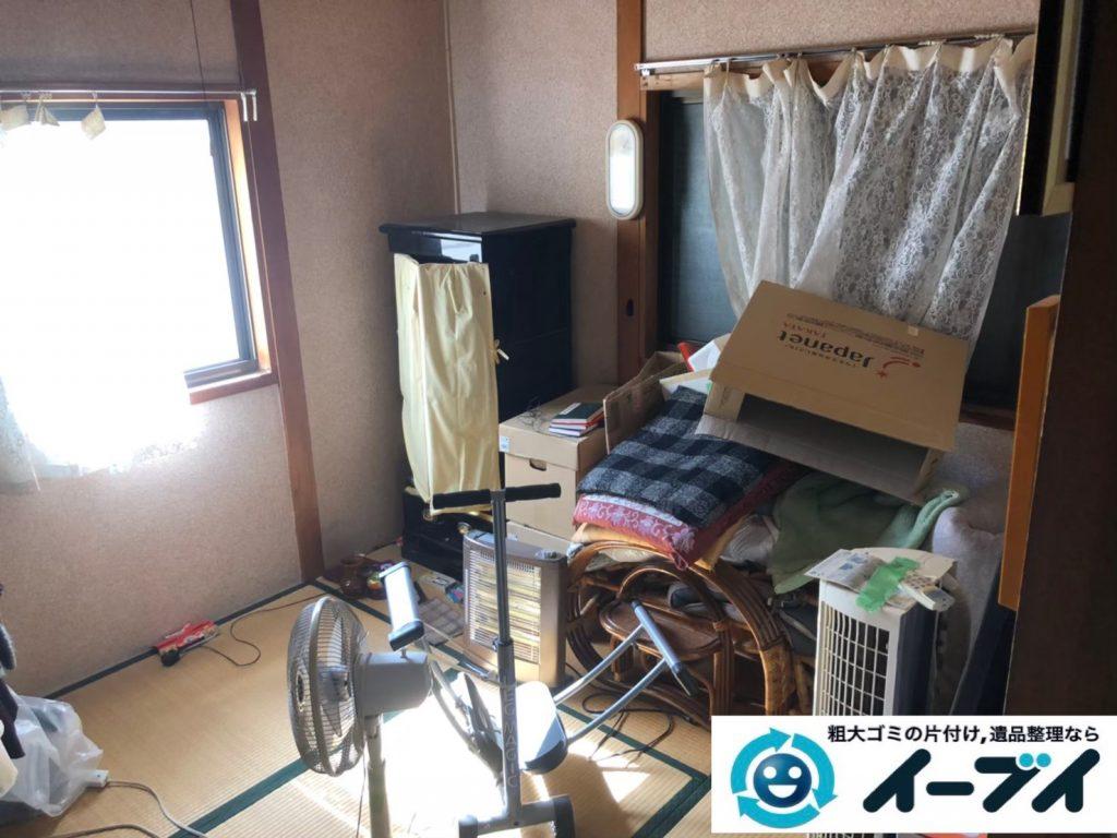 2020年4月1日大阪府大阪市此花区で箪笥など家財道具を一式処分させていただきました。写真3