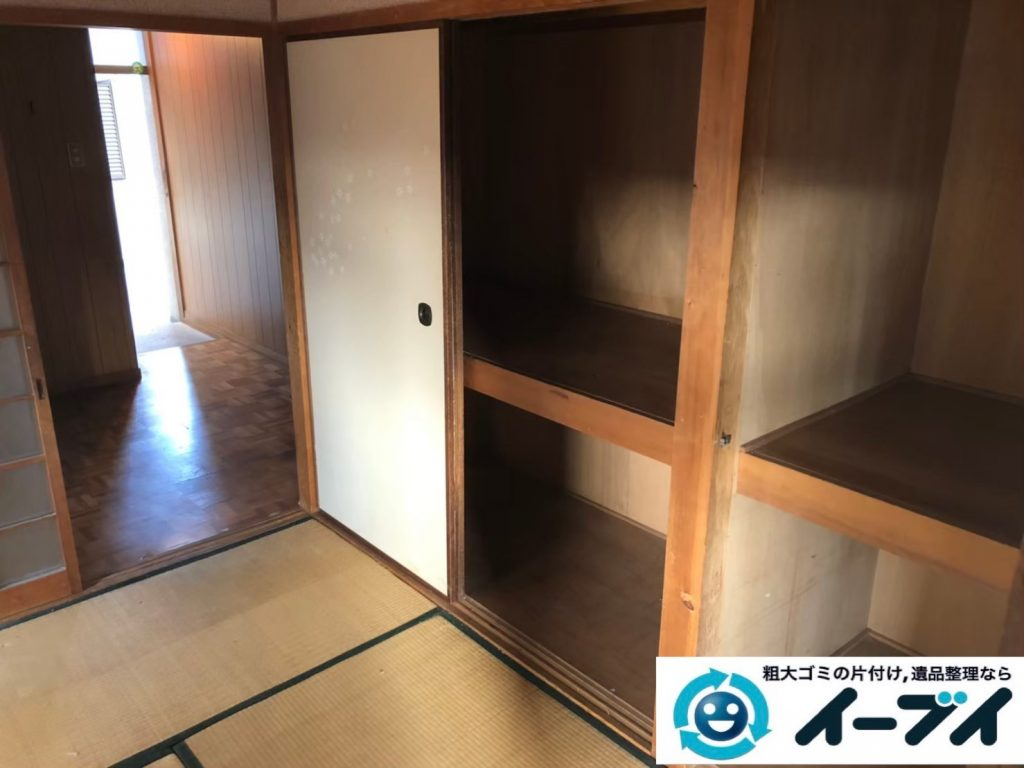 2020年3月31日大阪府大阪市港区で退去に伴い、お家の家財道具を一式処分させていただきました。写真4