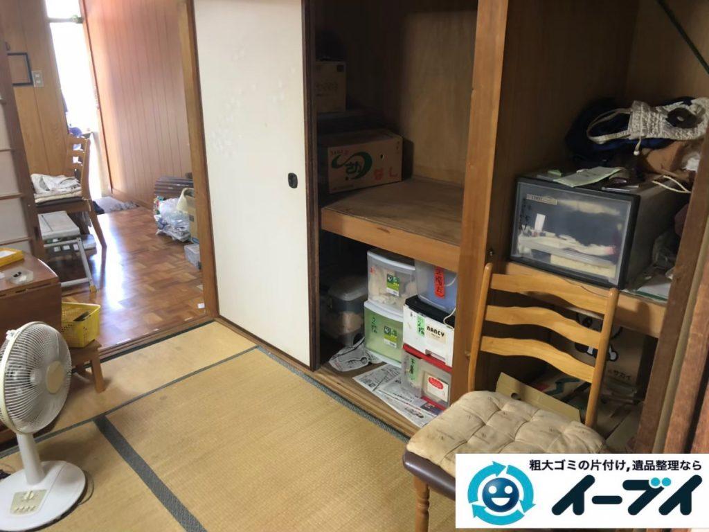 2020年3月31日大阪府大阪市港区で退去に伴い、お家の家財道具を一式処分させていただきました。写真3
