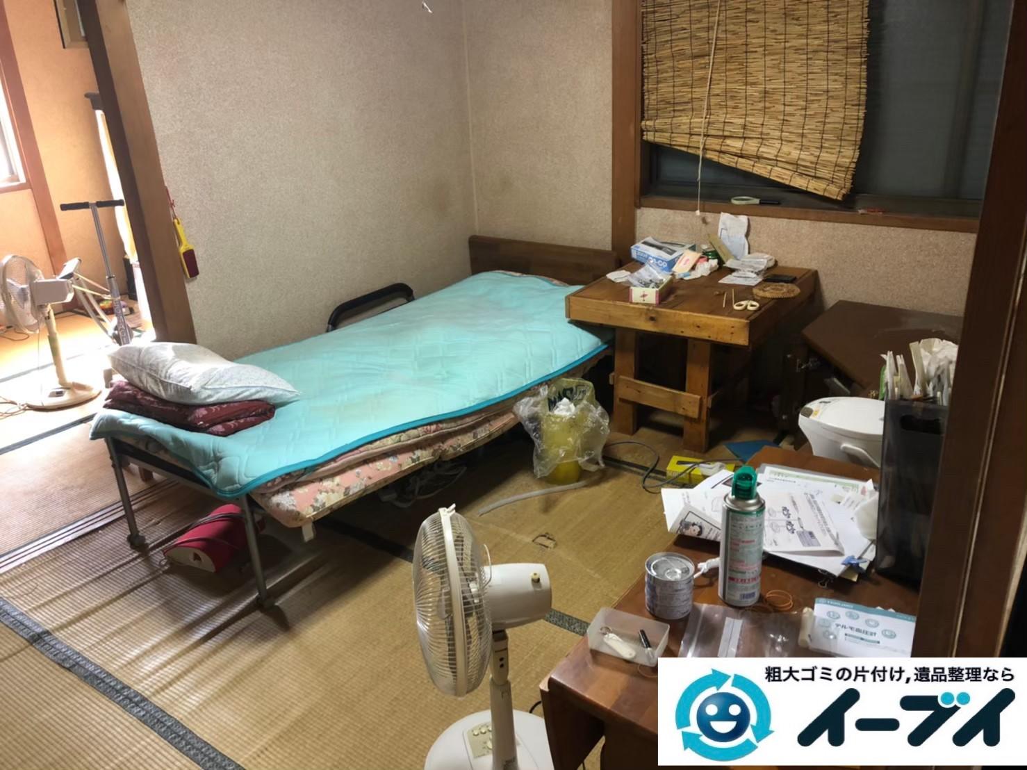 2020年3月31日大阪府大阪市港区で退去に伴い、お家の家財道具を一式処分させていただきました。写真1