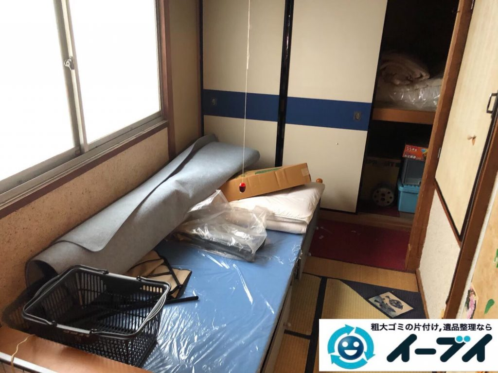 2020年4月28日大阪府大阪市西区で施設に移るため、残置物の不用品回収。写真4