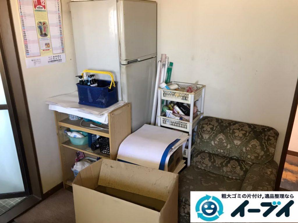 2020年4月22日大阪府大阪市港区でゴミ屋敷化したお家の片付け作業。写真1