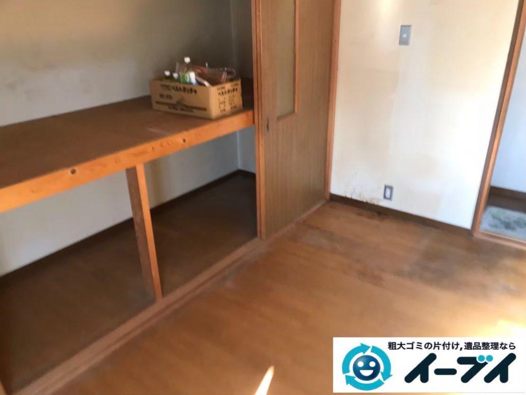 2020年4月16日大阪府大阪市東成区で箪笥など家財道具を一式処分させていただきました。写真2