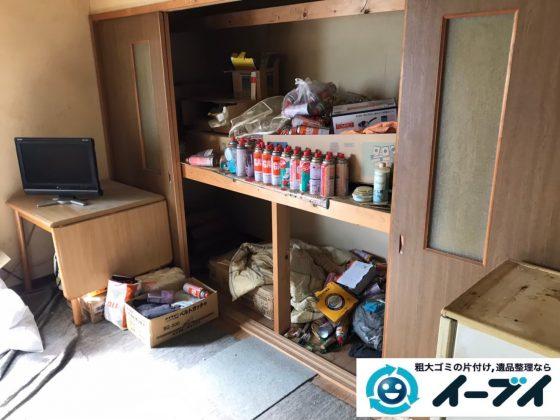 2020年4月14日大阪府大阪市天王寺区で退去に伴い、押し入れやお部屋の不用品回収。写真3