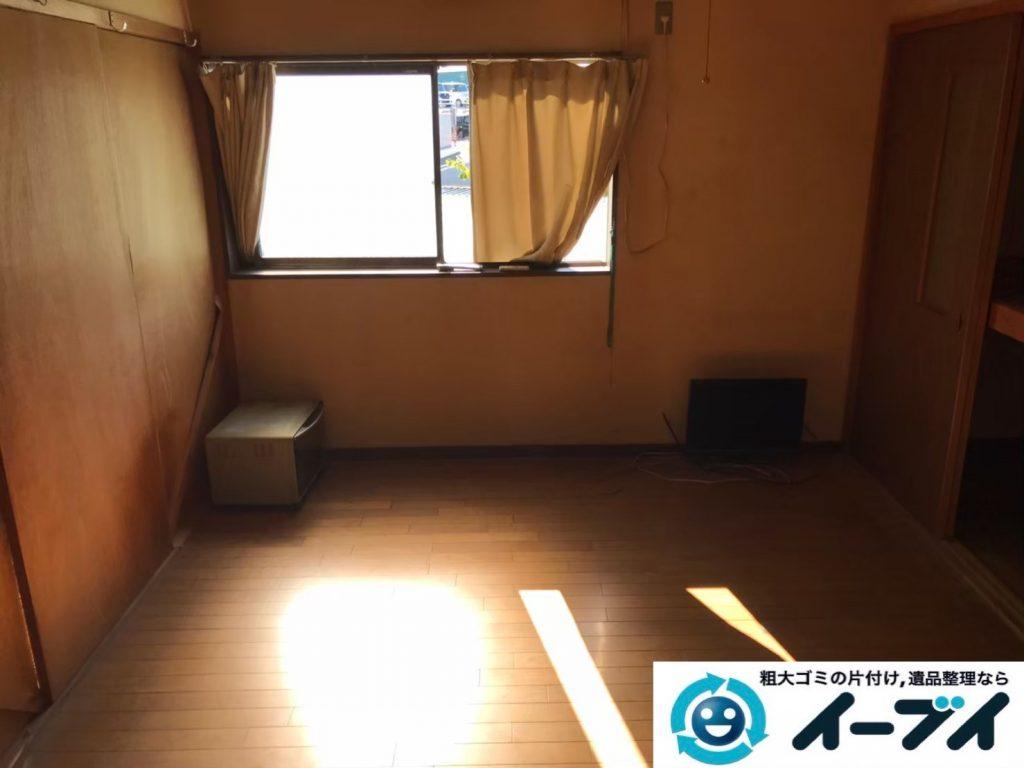 2020年4月14日大阪府大阪市天王寺区で退去に伴い、押し入れやお部屋の不用品回収。写真2