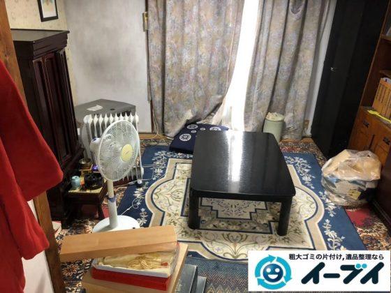2020年5月19日大阪府大阪市西区でマンション一室の不用品回収作業。写真3
