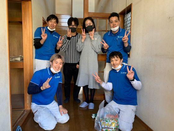 2020年5月1日大阪府堺市美原区で引っ越しに伴い家財の処分でイーブイをご利用頂きました。写真1
