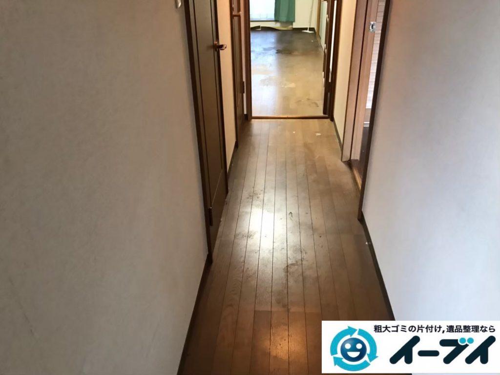2020年5月5日大阪府大阪市東淀川区でゴミ屋敷化した汚部屋の片付けです。写真1