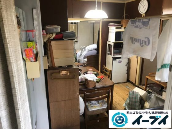 2020年5月25日大阪府大阪狭山市で退去に伴い、お家の残置物を片付け処分させていただきました。写真3
