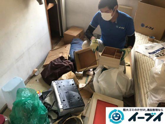 2020年5月26日大阪府大阪狭山市で退去に伴い、お家の残置物を片付け処分させていただきました。写真2