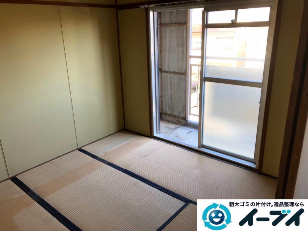 2020年5月28日大阪府大阪市西淀川区で家財道具を一式処分させていただきました。写真4