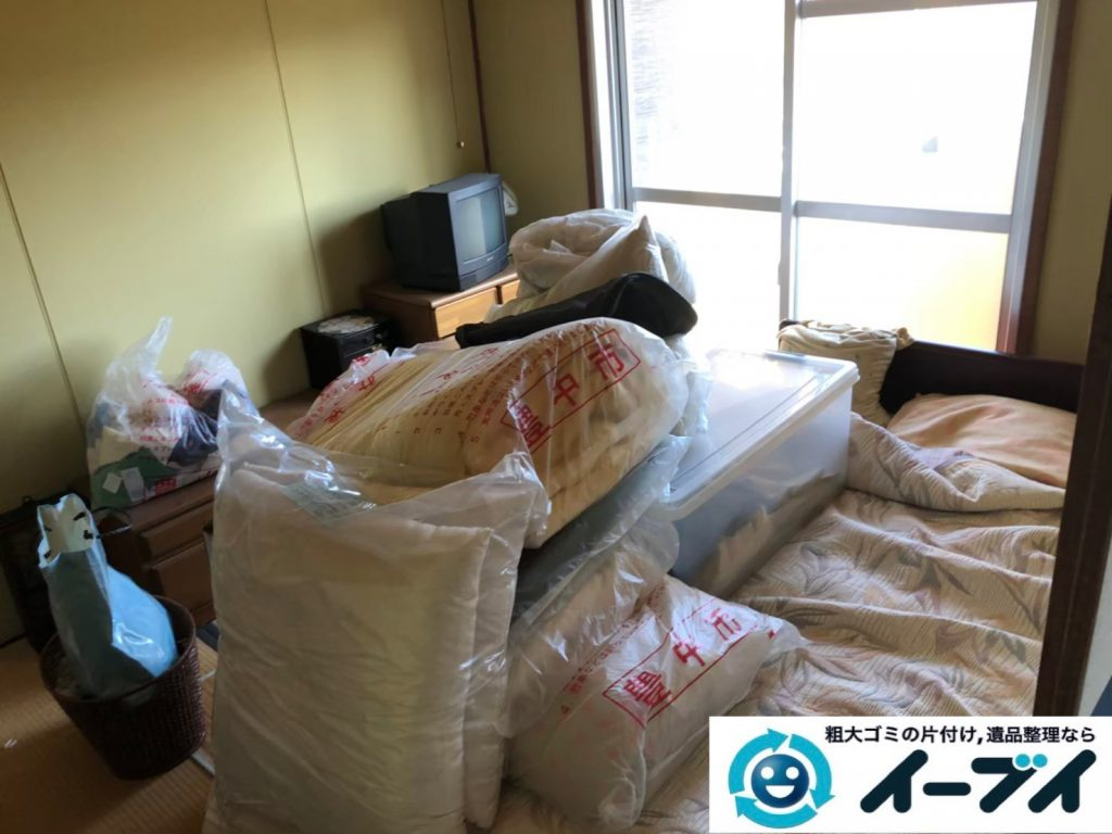 2020年5月28日大阪府大阪市西淀川区で家財道具を一式処分させていただきました。写真3
