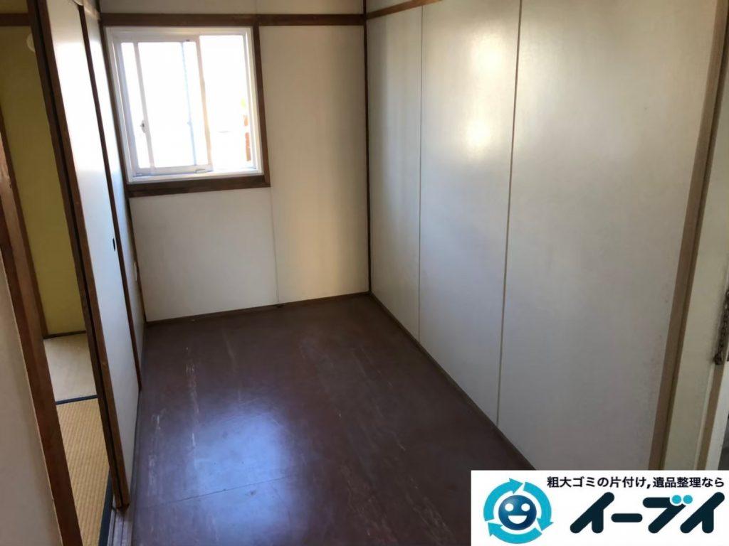2020年5月28日大阪府大阪市西淀川区で家財道具を一式処分させていただきました。写真2