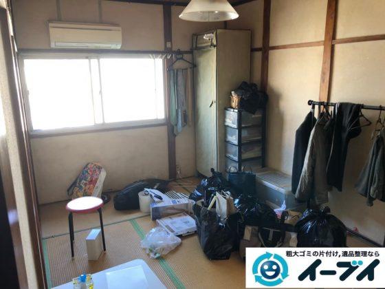 2020年6月3日大阪府大阪市忠岡町でお家のあるもの全て不用品回収させてもらいました。写真2