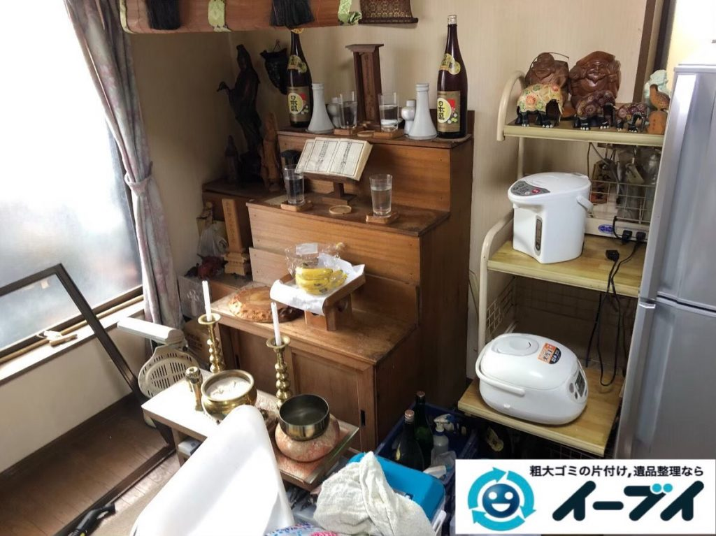 2020年7月2日大阪府豊中市でリビングの一室の不用品回収をさせていただきました。写真4