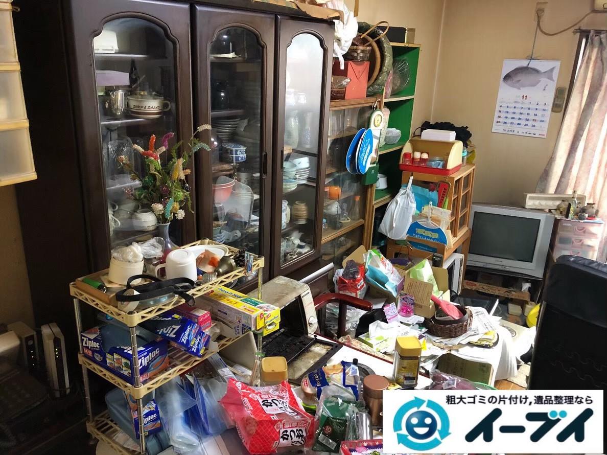 2020年7月2日大阪府豊中市でリビングの一室の不用品回収をさせていただきました。写真1