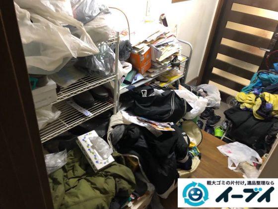 2020年6月29日大阪府藤井寺市でゴミ屋敷化したお家の片付け作業です。写真3