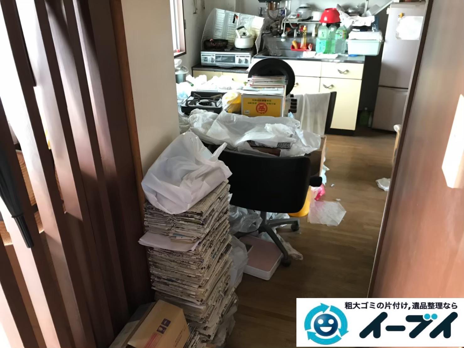 2020年6月17日大阪府貝塚市で台所の不用品回収をさせていただきました。写真1