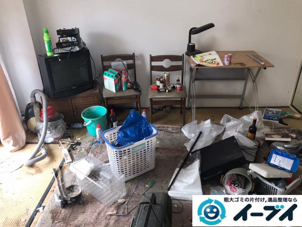 2020年7月16日大阪府四条畷市で引越しに伴い、不要な引越しゴミを不用品回収させていただきました。写真3