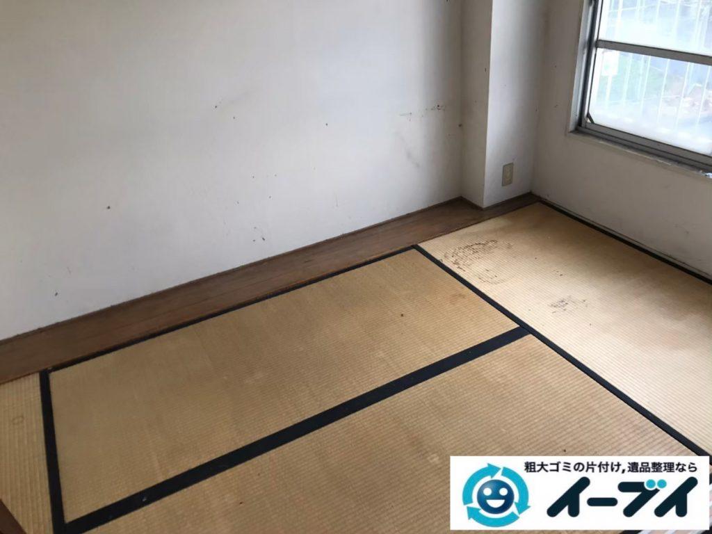 2020年7月16日大阪府四条畷市で引越しに伴い、不要な引越しゴミを不用品回収させていただきました。写真2