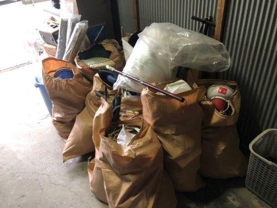 2020年7月22日大阪府八尾市で退去に伴い、倉庫の不用品回収をさせていただきました。写真5