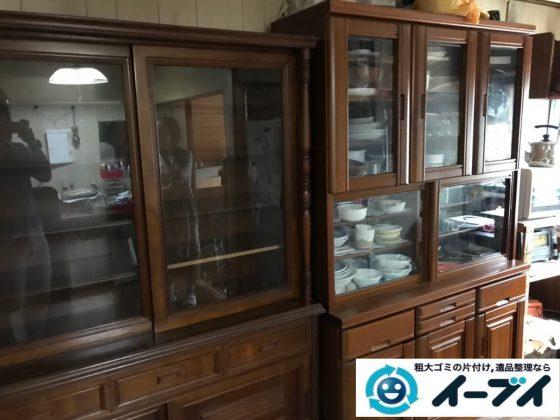 2020年8月3日大阪府大阪市住吉区で婚礼家具や食器棚の大型家具の不用品回収をさせていただきました。写真4