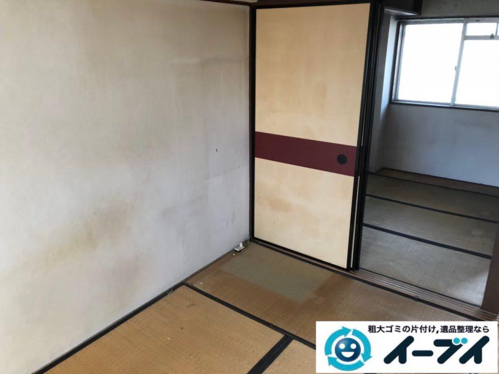2020年7月31日大阪府堺市北区で施設に入居されるため、退去に伴いお家の家財道具を一式処分させていただきました。写真3