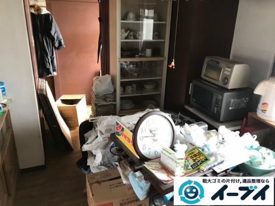 2020年7月24日大阪府堺市南区で退去に伴い、お家の家財道具を一式処分させていただきました。写真4