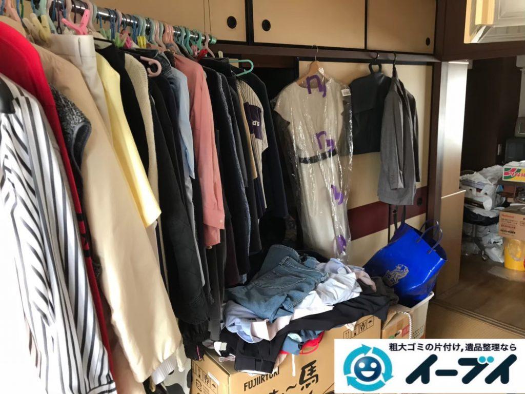 2020年7月23日大阪府堺市堺区で遺品整理に伴い、婚礼家具の大型家具などお家の家財道具を一式処分させていただきました。写真2