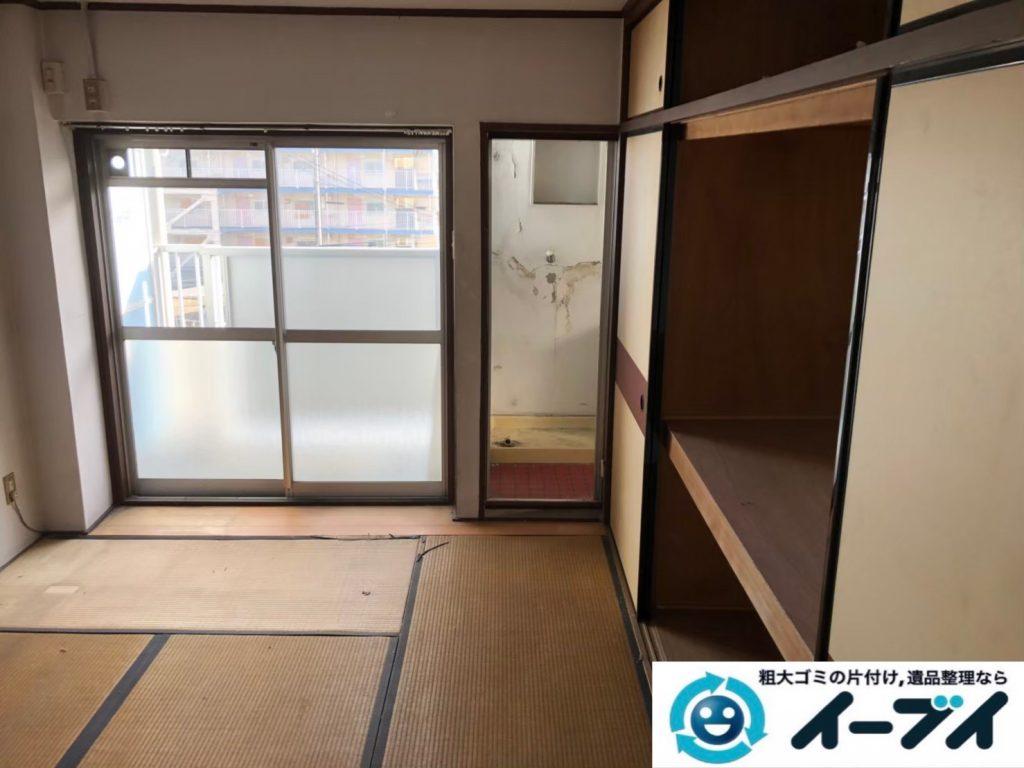 2020年8月11日大阪府堺市南区で退去に伴い、お家の家財道具を一式処分させていただきました。写真1