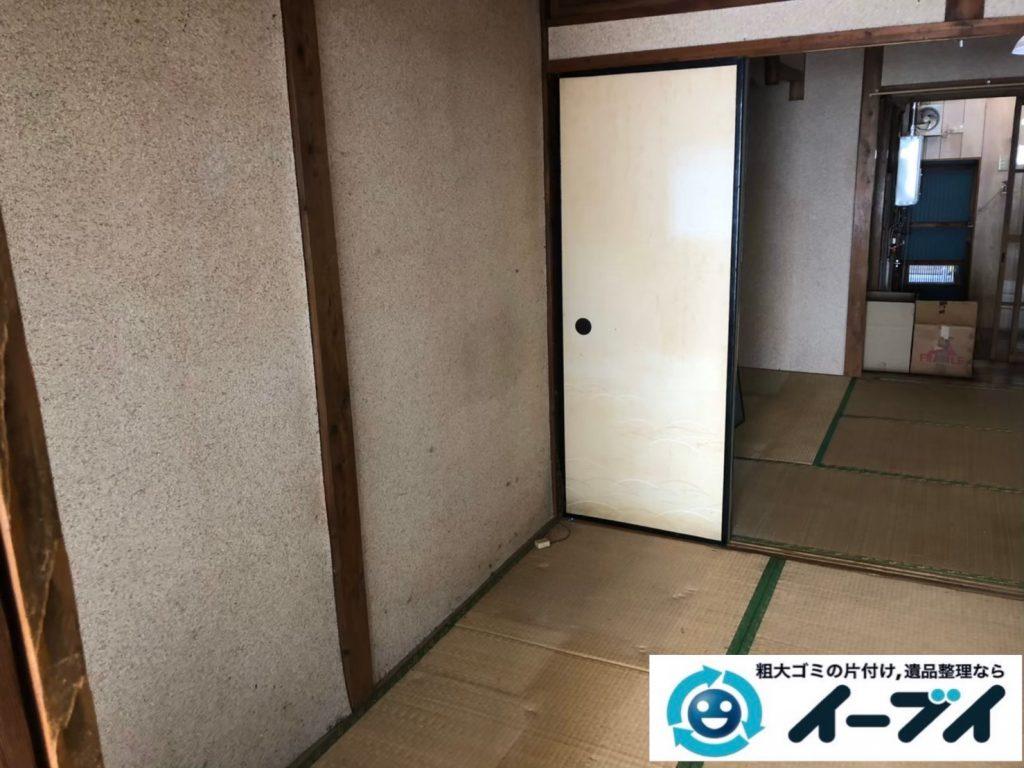 2020年8月12日大阪府大阪市中央区で引越しに伴い、お家の引っ越しゴミや残置物を不用品回収させていただきました。写真4