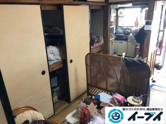 2020年8月17日大阪府大阪市北区で施設に伴い、お家の家財道具を一式処分させていただきました。写真3