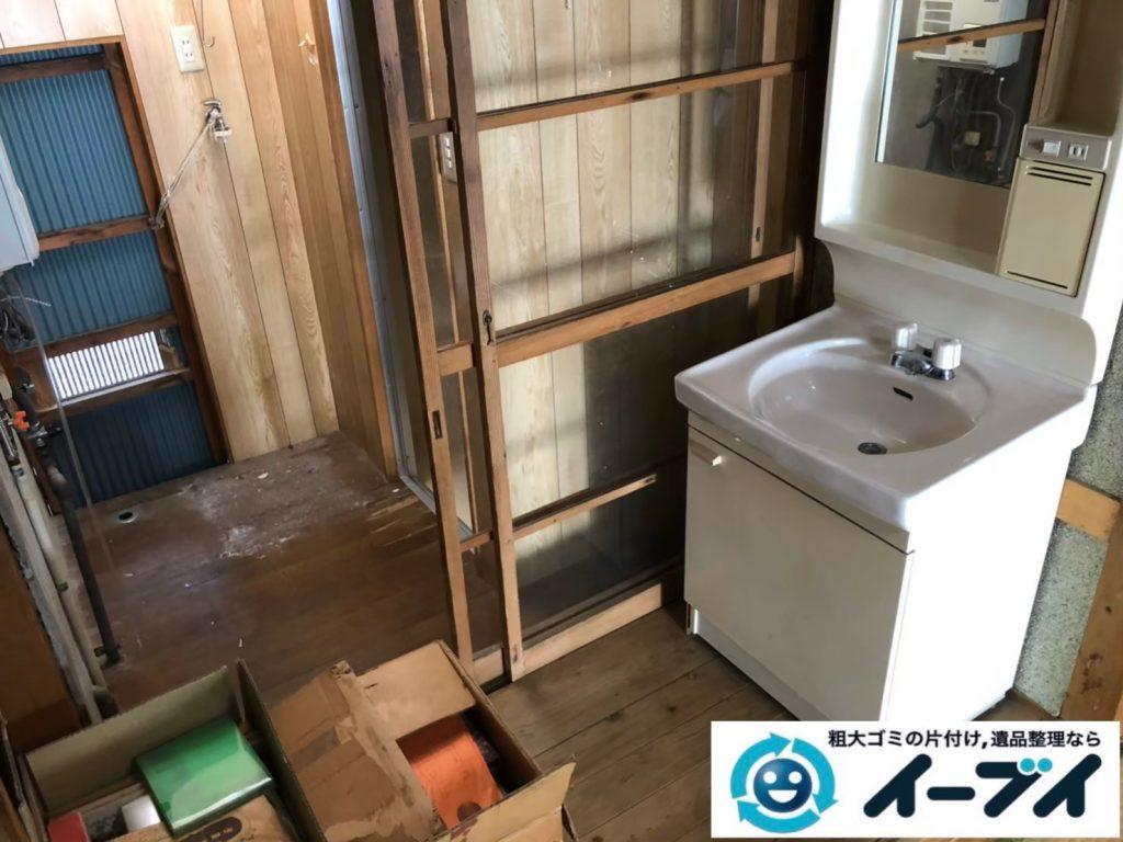 2020年8月13日大阪府大阪市城東区で長年住んだお家の、家財道具を一式処分させていただきました。写真6