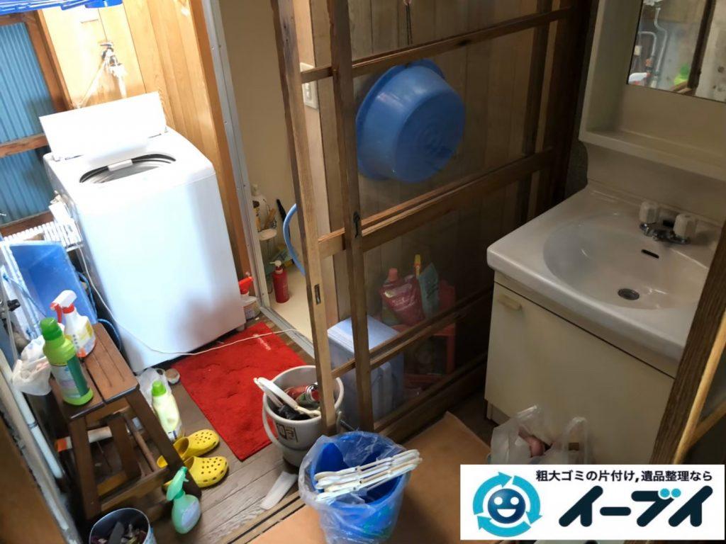 2020年8月13日大阪府大阪市城東区で長年住んだお家の、家財道具を一式処分させていただきました。写真5